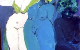 – 120x 100, Acryl auf Leinwand, 2010